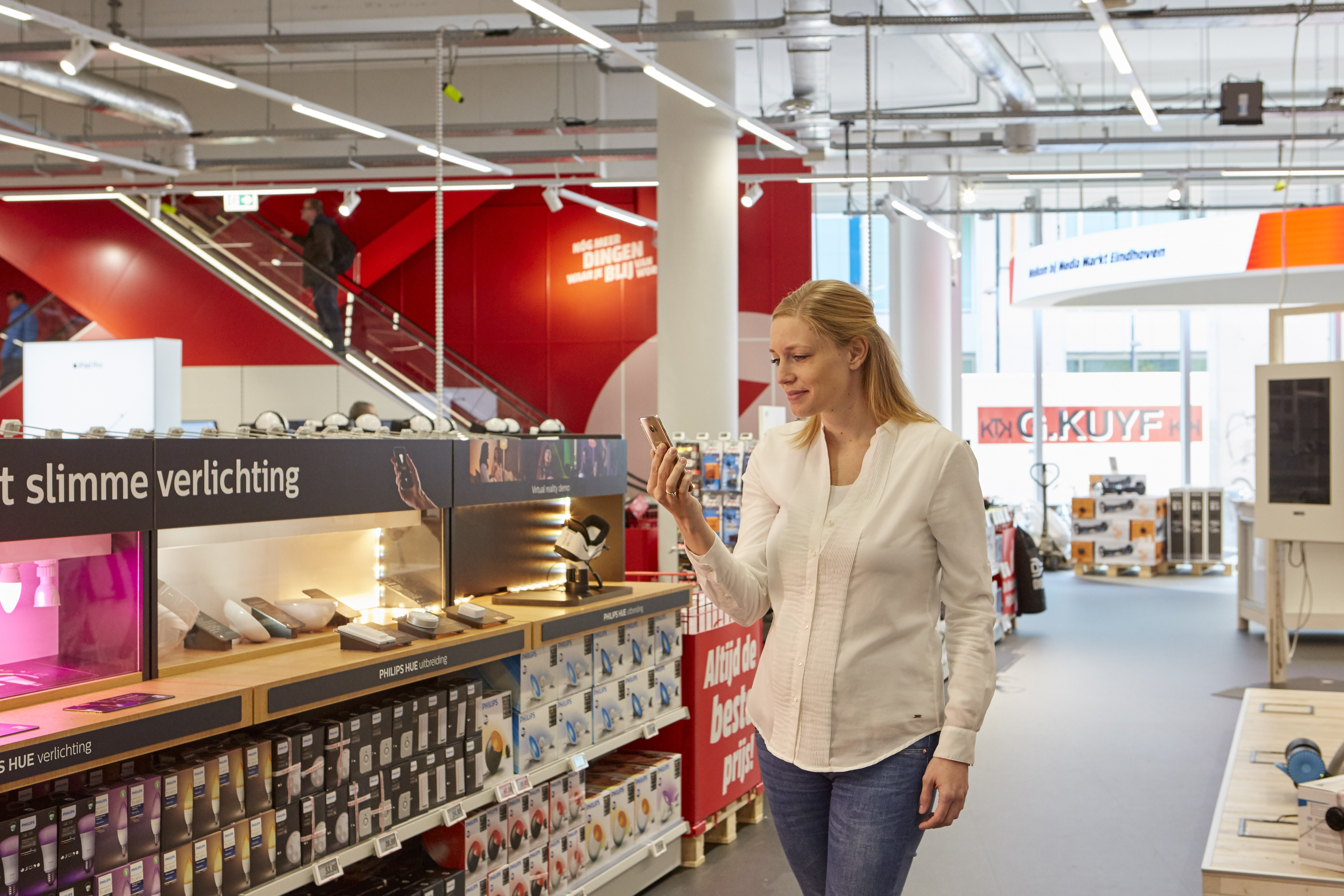 Philips-Lighting-Indoorpositioning-MediaMarkt Storeguide-app-shopper