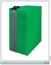 Zasilacz UPS EVER Powerline Green 33 typu On-Line